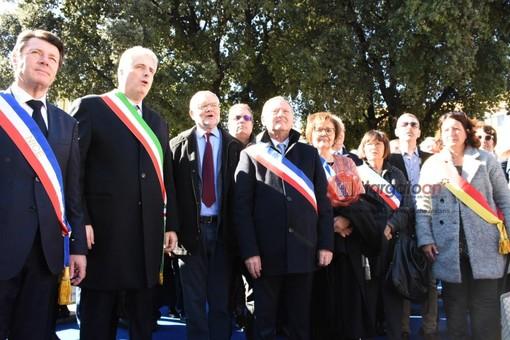 A Nizza la manifestazione per ricordare il legame tra Francia e Italia - presente anche una delegazione delle città della provincia di Cuneo (Foto e Video)