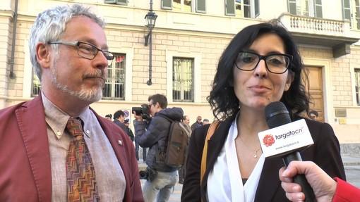 Mauro Campo e Fabiana Dadone