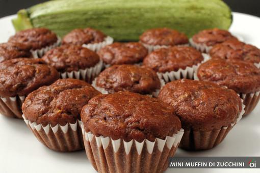MercoledìVeg: oggi prepariamo mini muffin di zucchini
