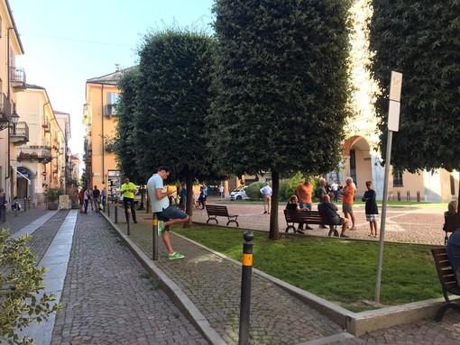 Un flop la manifestazione contro il green pass a Cuneo alla vigilia dell'entrata in vigore