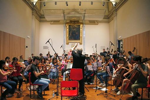 Allievi del  corso Obiettivo Orchestra in Apm