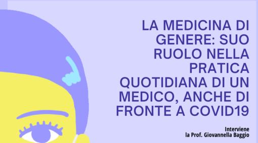 Medicina di genere, i sintomi di un malato sono uguali tra uomo e donna? Incontro in videconferenza con la professoressa Giovannella Biaggio