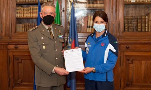 L'Esercito celebra i suoi campioni: Marta Bassino tra gli atleti premiati a Roma
