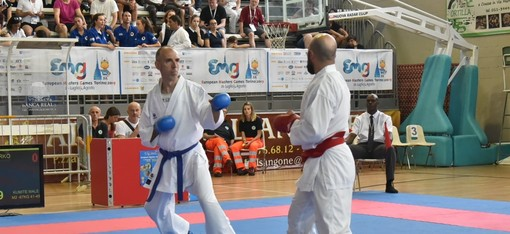 Karate: oro di Emanuele Marras agli European Master Games 2019