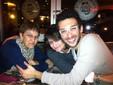 febbraio 2013. Cena in birreria con gli amici di Cuneo dopo lo spettacolo l'Italiana ad Algeri
