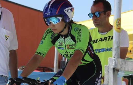 Ciclismo: dal 2021 Matilde Ceriello correrà nel Racconigi Cycling Team