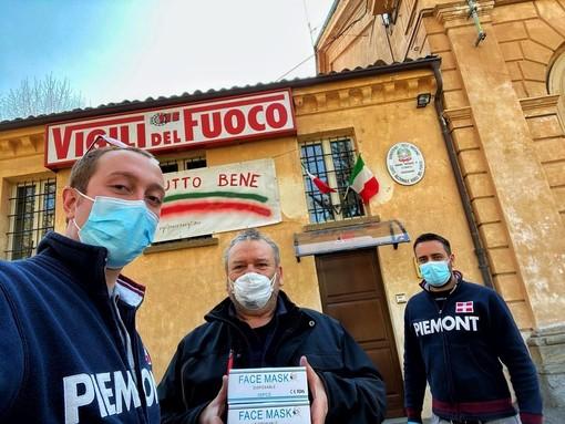 A Savigliano consegnate 2.000 mascherine chirurgiche