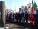 In foto il monumento in onore delle vittime delle foibe inaugurato nel 2018