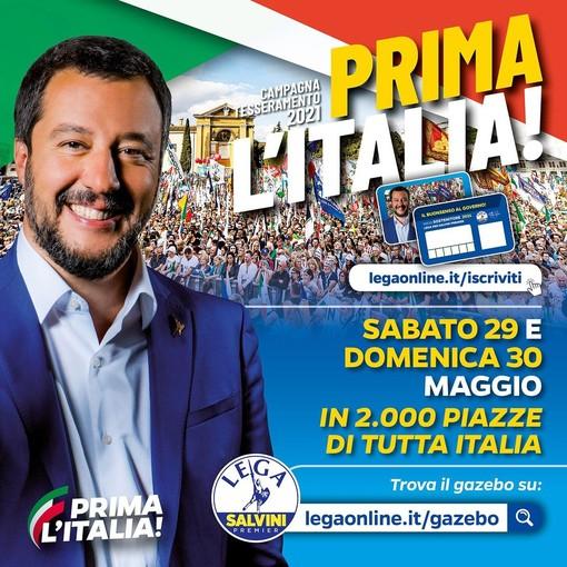 """Tesseramento e Made in Italy: la """"Lega Salvini Premier"""" in tutte le principali piazze della Granda"""