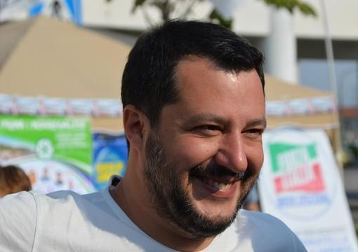 """Salvini: """"Dal governo appena 15 milioni per l'alluvione, ma in Piemonte serve un miliardo"""""""