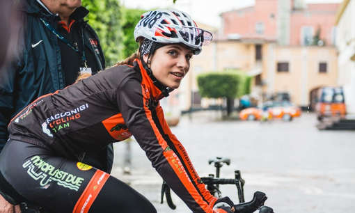 Ciclismo -  Ancora una top ten per Matilde Vitillo