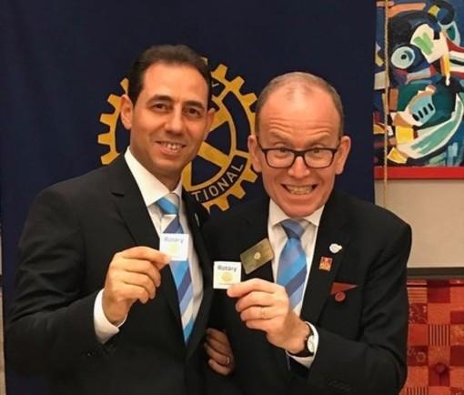 Giovanni Benedetto, presidente Rotary Saluzzo, Gian Michele Gancia