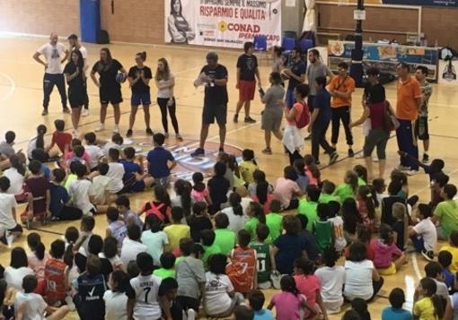 Grande festa a SportArea per la Minibasket School's Cup