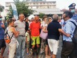 """Saluzzo, momenti della manifestazione dei """"No Green Pass"""""""
