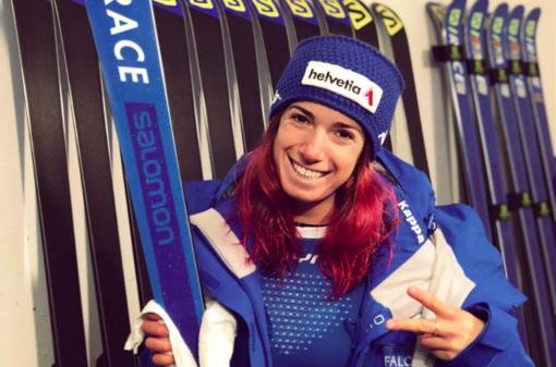 Sci alpino femminile - Marta Bassino con le altre azzurre in raduno a Pfelders