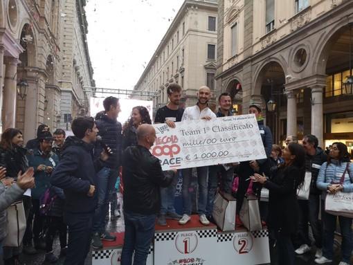 Vittoria bis per la Finale 2019 di Molecola Coop Race, i Ciuchini smilzi si confermano Campioni della Spesa in via Roma a Torino