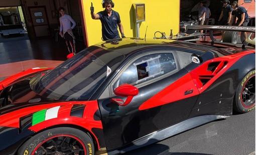 Motori: debutto (a sorpresa) in classe GT3 per il pilota albese Matteo Greco