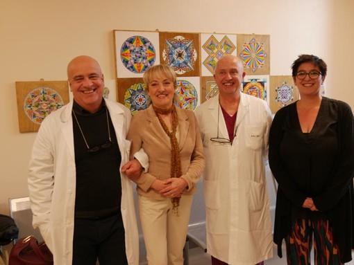 I mandala colorano la nuova Dialisi di Savigliano