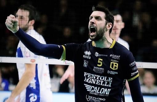Volley maschile A2: primo colpo per il Cuneo Volley, ecco lo schiacciatore Nicola Tiozzo