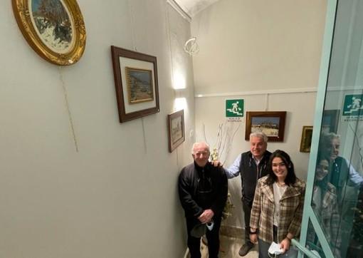 Pietro Masante, Gian Mario Mina e Chiara Bertola