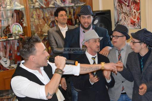 """Da Savigliano a Sanremo con un inedito: """"Le Nuvole"""" duettano con il rapper Shy (FOTO e VIDEO)"""