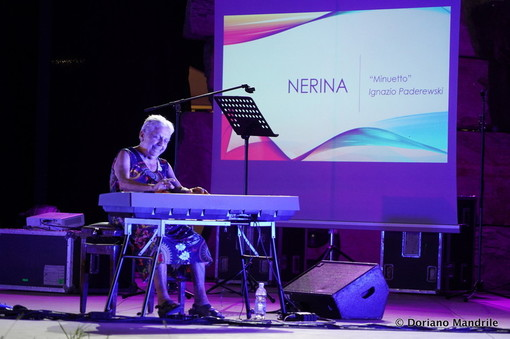 Nerina Peroni, in una foto di Doriano Mandrile