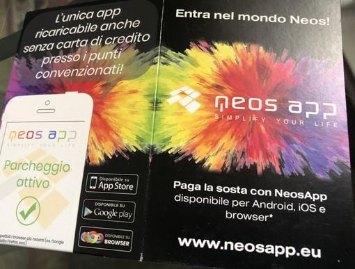 Neos App: l'applicazione per i parcheggi che può essere ricaricata anche in contanti. Fossano la prima città del Piemonte