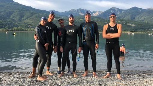 Nuoto acque libere: i portacolori CSR Granda in evidenza a Serre-Ponçon