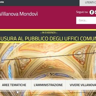 Il sito del comune di Villanova Mondovì si rifà il look