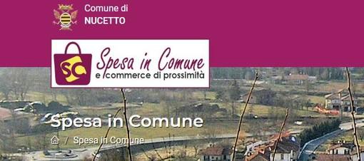 """Nucetto aderisce a """"Spesa in Comune"""", l'e-commerce di prossimità per le attività del territorio"""