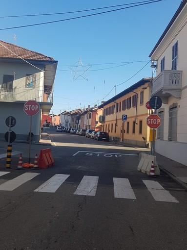 Maggiore sicurezza a Sommariva del Bosco: un nuovo STOP in via IV Novembre