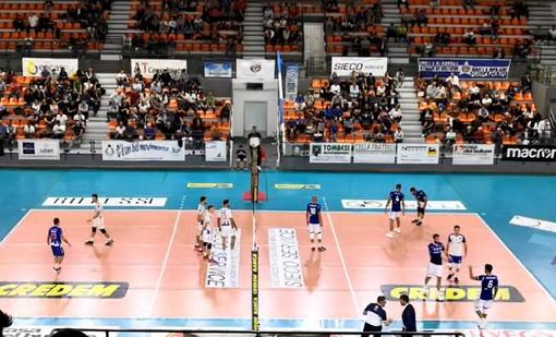 Volley A2/M: Falsa partenza per il Vbc Synergy Mondovì! I galletti di Fenoglio sconfitti 3-1 nella trasferta di Ortona