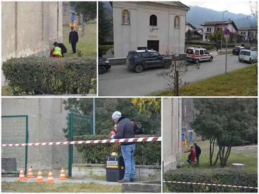 Barge: rinvenuto il cadavere di una donna nei pressi della chiesa di San Rocco, potrebbe trattarsi di un omicidio (FOTO E VIDEO)