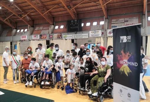 La Onlus Marco Berry al Palazzetto dello Sport di Fossano