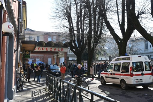 L'ospedale di Tortona, stamattina 4 marzo