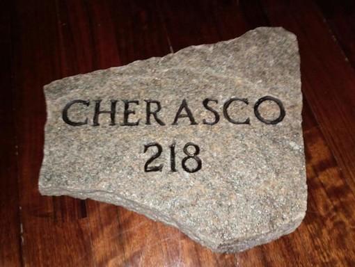 Un pietra per i caduti cheraschesi nell'area monumentale di Biella