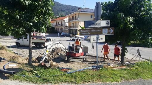 Rifreddo: al via la riqualificazione di piazza Garibaldi