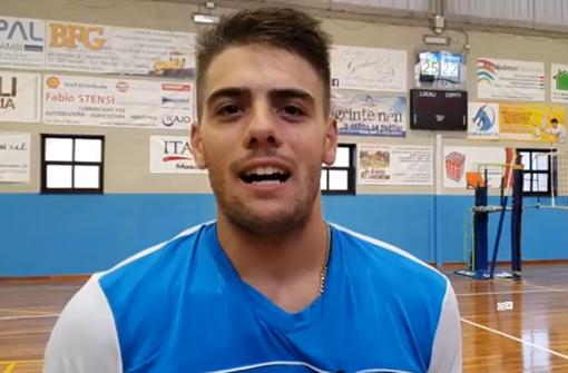 Volley maschile A2 - VBC Mondovì, il punto del libero Pasquale Fusco (VIDEO)