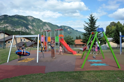 Il parco giochi inclusivo aperto a Demonte