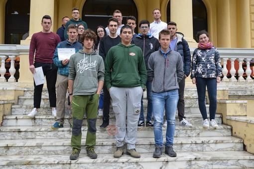 Ormea: studenti da tutt'Italia per la gara nazionale delle scuole forestali (FOTO e VIDEO)