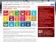 La home page del portale sul Piano Strategico nel comune di Cuneo