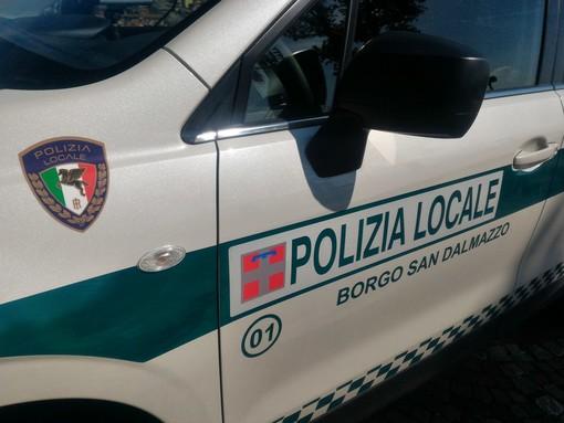 Giravano a Borgo San Dalmazzo ma venivano da Merano: coppia denunciata dalla polizia municipale