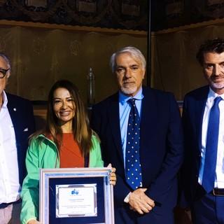 Nelle foto alcuni momenti della premiazione avvenuta ieri al Museo della Montagna di Torino