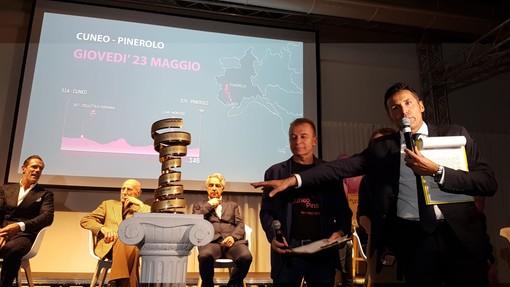 Nel ricordo di Coppi e Pantani è stata presentata la tappa Cuneo-Pinerolo del Giro d'Italia (FOTO E VIDEO)