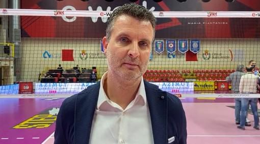 """Volley femminile A1 - Bosca S.Bernardo Cuneo cade a Busto, Pistola: """"Abbiamo fatto grande fatica ad arginare il loro muro"""" (VIDEO)"""