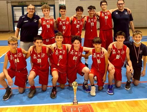 Basket: Pallacanestro Farigliano campione regionale Csi U14