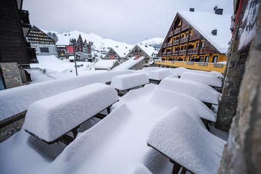 80 centimetri di neve a Prato Nevoso: venerdì 22 l'apertura della stagione sciistica