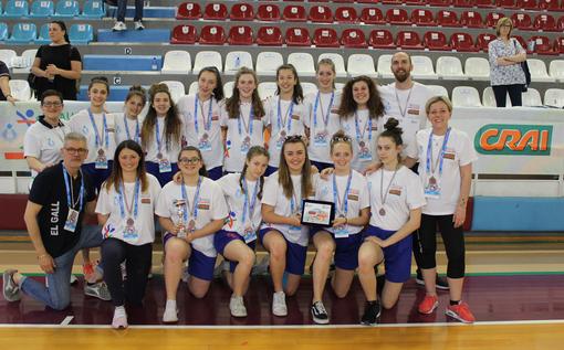 Volley femminile: quinto posto per le ragazze del Play-Gall ai Nazionali U16 di Rieti