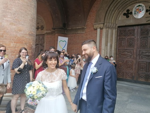 Pietro e Chiara sposi
