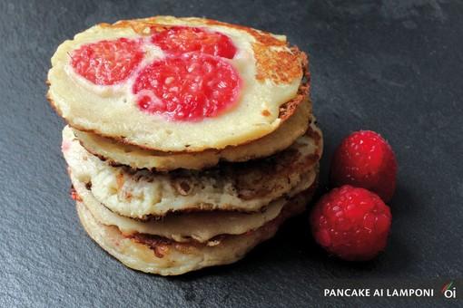MercoledìVeg: oggi prepariamo i deliziosi pancake ai lamponi. Ecco la ricetta